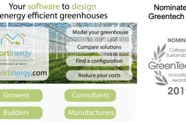 Nominated for greentech award