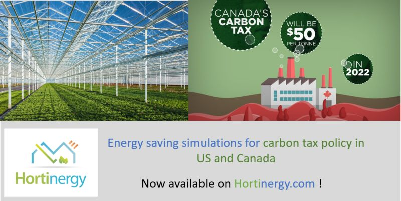 Carbon taxe rebate calculation for your greenhouse project